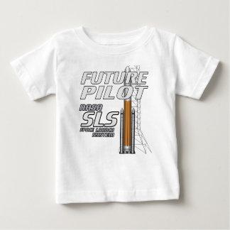 未来のパイロット ベビーTシャツ