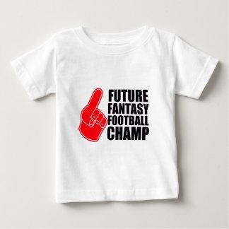 未来のファンタジーのフットボールのチャンピオン ベビーTシャツ