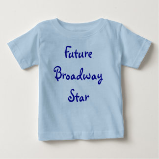 未来のブロードウェイの星 ベビーTシャツ