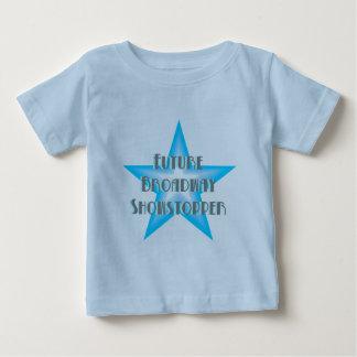 未来のブロードウェイのShowstopperの(青い)幼児Tシャツ ベビーTシャツ