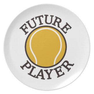 未来のプレーヤー プレート