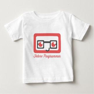 未来のプログラマー -- 女の子 ベビーTシャツ