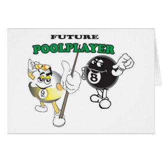 未来のプールプレーヤー カード