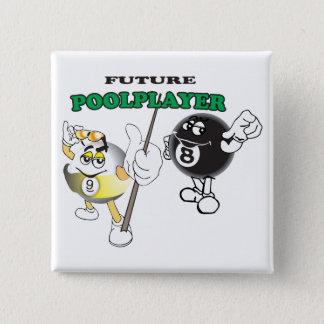 未来のプールプレーヤー 缶バッジ