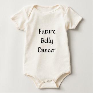 未来のベリーダンサー ベビーボディスーツ