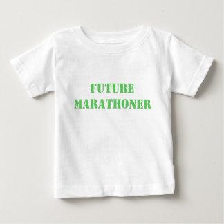 未来のマラソン選手 ベビーTシャツ