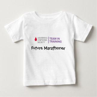 未来のマラソン選手TNTの新しいロゴ ベビーTシャツ