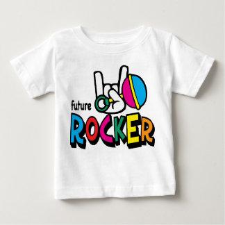 未来のロッカーの~のグラフィックのティー ベビーTシャツ