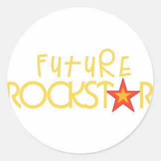 未来のロックスター ラウンドシール