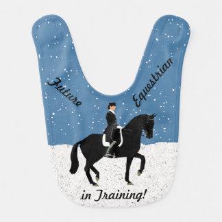 未来の乗馬の馬場馬術 ベビービブ