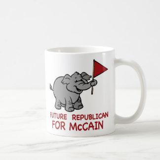 未来の共和党のMcCain コーヒーマグカップ