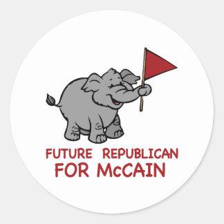 未来の共和党のMcCain ラウンドシール