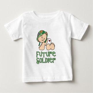 未来の兵士 ベビーTシャツ