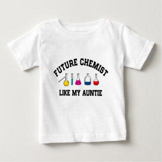 未来の化学者は私の伯母さんを好みます ベビーTシャツ