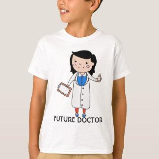 未来の医者、余りに Tシャツ