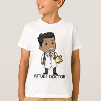 未来の医者、男の子 Tシャツ