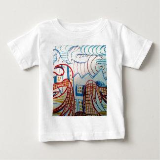 未来の原住民 ベビーTシャツ