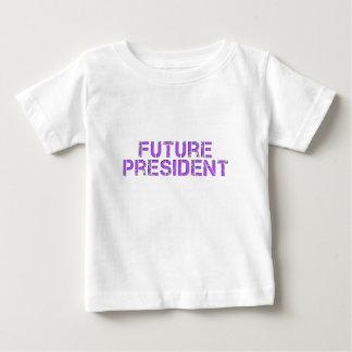 未来の大統領 ベビーTシャツ