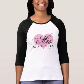 未来の夫人 Tシャツ