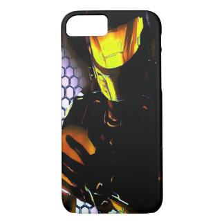 未来の宇宙の戦闘の兵士のiPhone 7の場合 iPhone 8/7ケース