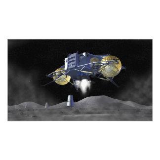 未来の宇宙探検の代表団7 フォトプリント