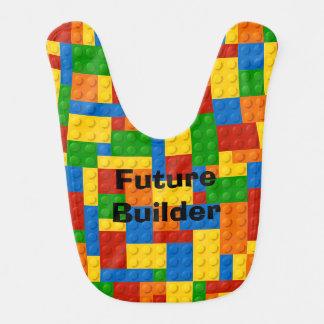 未来の建築者-ベビー用ビブ ベビービブ