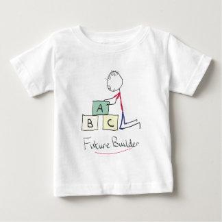 未来の建築者 ベビーTシャツ