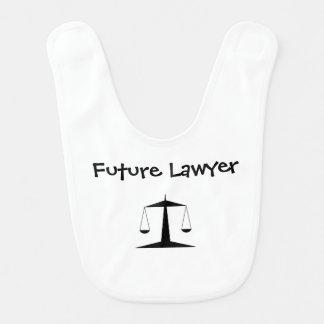 """""""未来の弁護士""""のベビー用ビブ ベビービブ"""