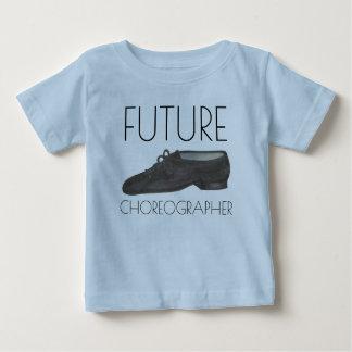 未来の振付師ジャズダンスの靴のダンサー ベビーTシャツ