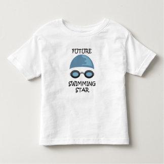 未来の水泳の星 トドラーTシャツ