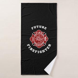 未来の消防士のBathタオル バスタオル