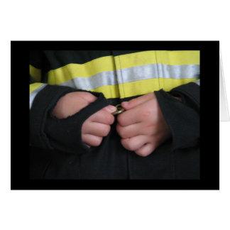 未来の消防士 カード