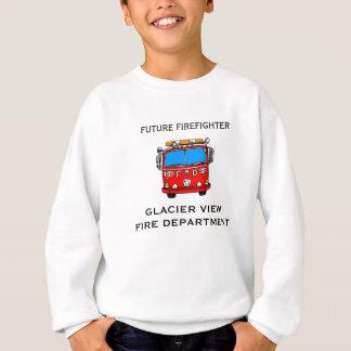 未来の消防士 スウェットシャツ