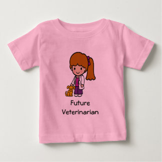 未来の獣医 ベビーTシャツ