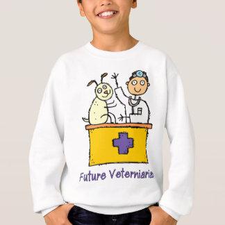 未来の獣医-男の子 スウェットシャツ