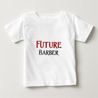 未来の理容師 ベビーTシャツ