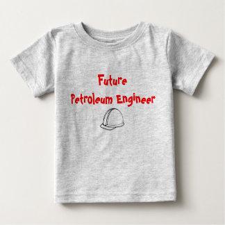 未来の石油エンジニアの子供のTシャツ ベビーTシャツ