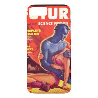 未来の空想科学小説02の(イギリスの) _Pulpの芸術 iPhone 8/7ケース