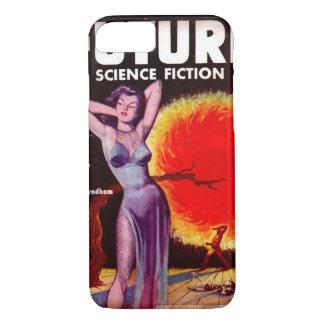 未来の空想科学小説13 (イギリス)の[1953-01年の] _Pulpの芸術 iPhone 8/7ケース