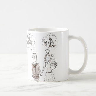 未来の花嫁のマグ コーヒーマグカップ