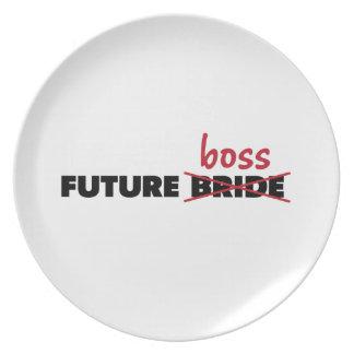 未来の花嫁またはボスのプレート プレート