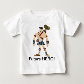 未来の英雄! ベビーTシャツ