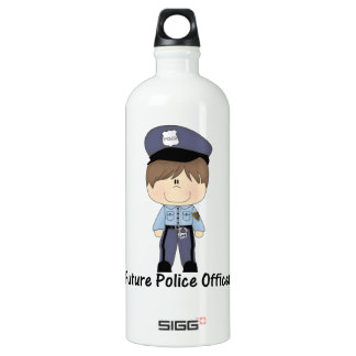 未来の警官(男の子) ウォーターボトル