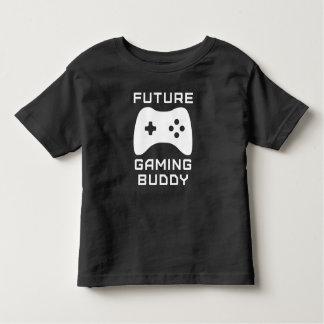 未来の賭博の相棒の幼児のワイシャツ トドラーTシャツ