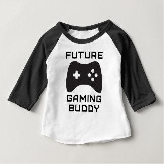 未来の賭博の相棒 ベビーTシャツ