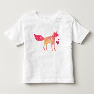 未来の野性生物の生物学者の男の子の幼児のTシャツ トドラーTシャツ