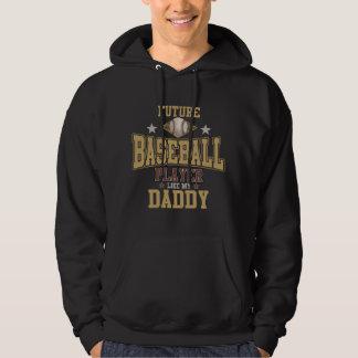 未来の野球選手は私のお父さんを好みます パーカ