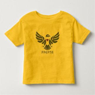 未来の《鳥》ハヤブサの幼児のティー トドラーTシャツ