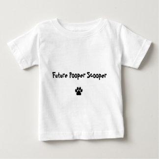 未来のPooper Scooper ベビーTシャツ