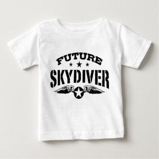 未来のSkydiver ベビーTシャツ
